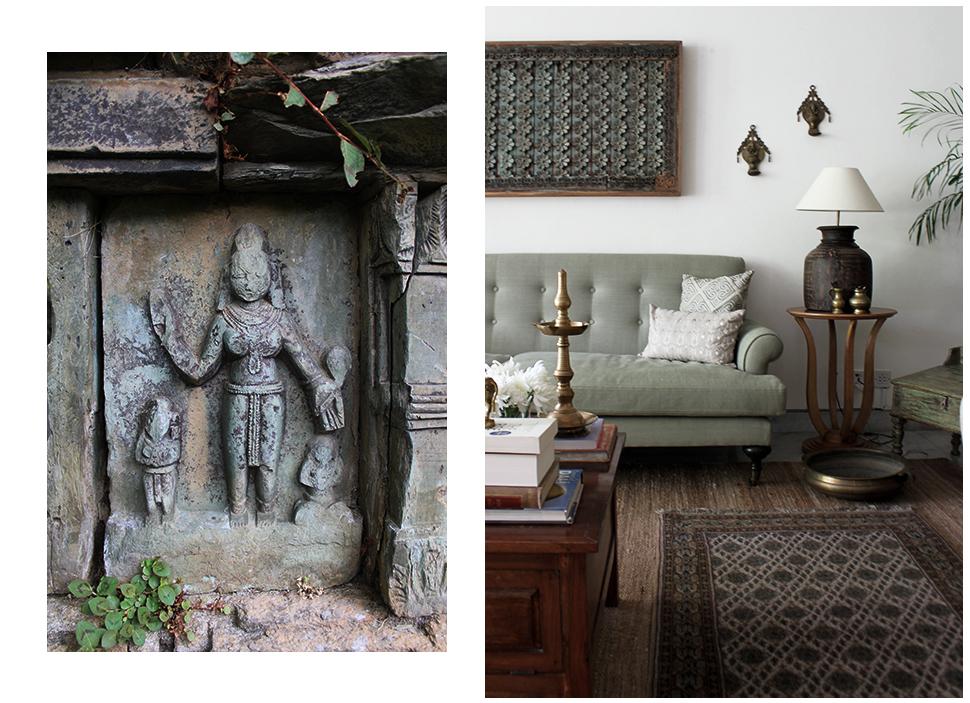 Naula, Uttrakhand art, India, Traditional decor, Natural Decor, Shivani Dogra