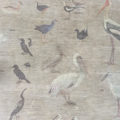 birds, india, migratory, art, wall mural
