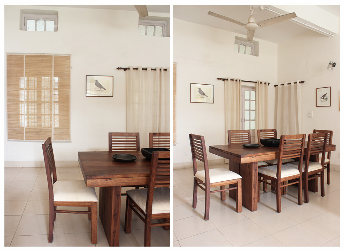 dining room, india, calm, peace, decoration, dining table, natural