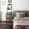 bedroom, india, textiles, interior design