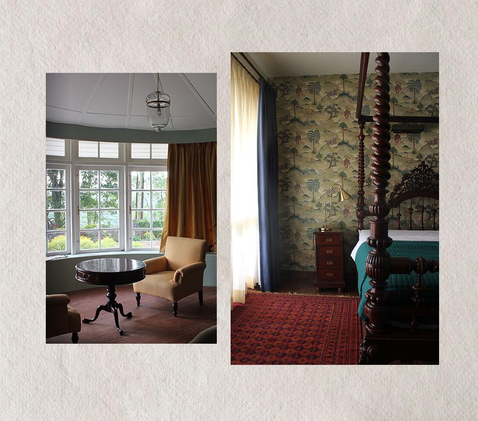 wallpaper, india, liing room, tea estate, bungalow, bedroom, interior design