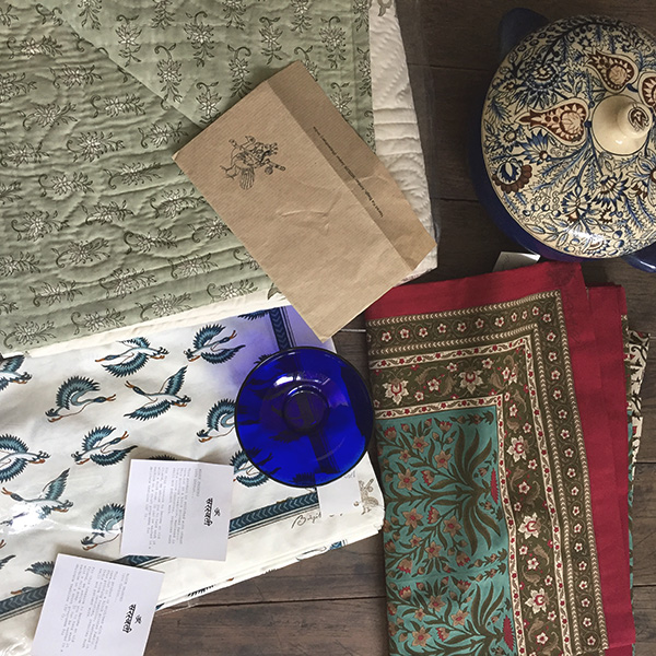 brigette singh, natural, handmade, india, textile, block print