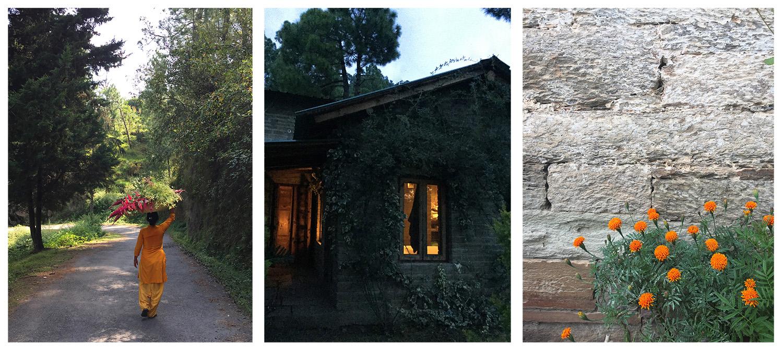 mountain home, living, local, himalayas, india, natural