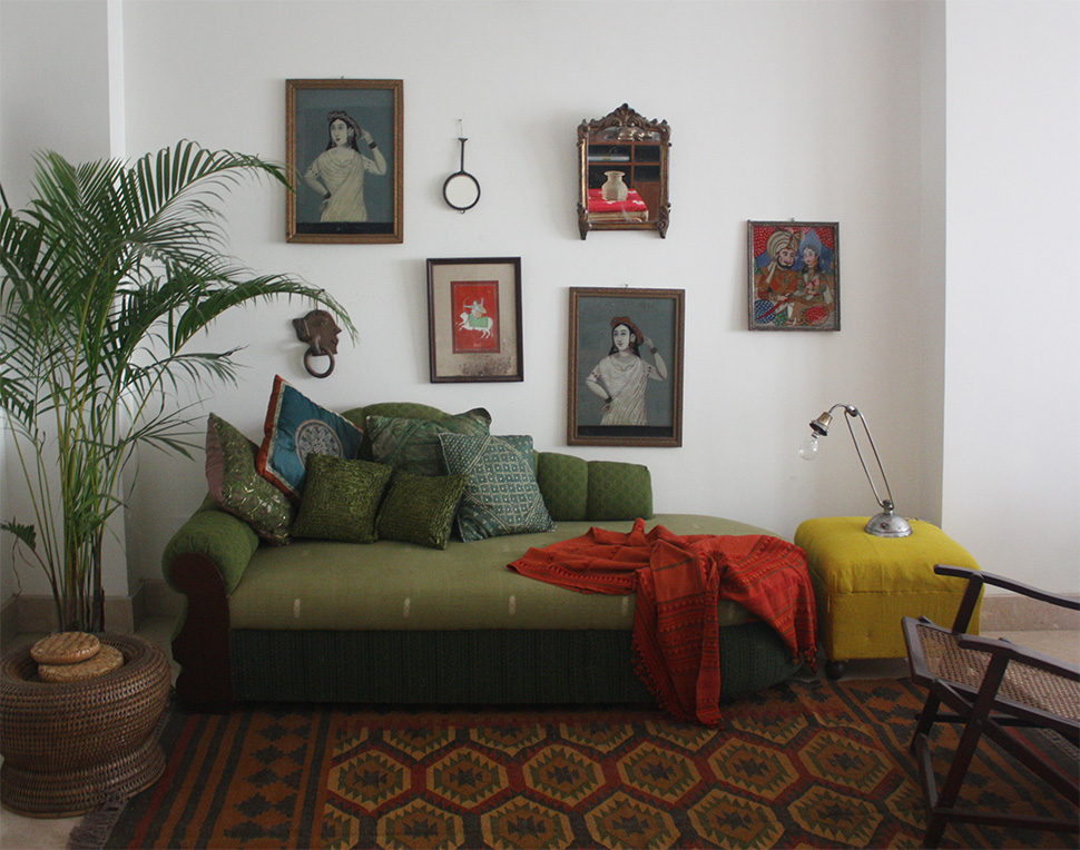 guesthouse, decoration, nizamuddin east, delhi, indian art, handicrafts