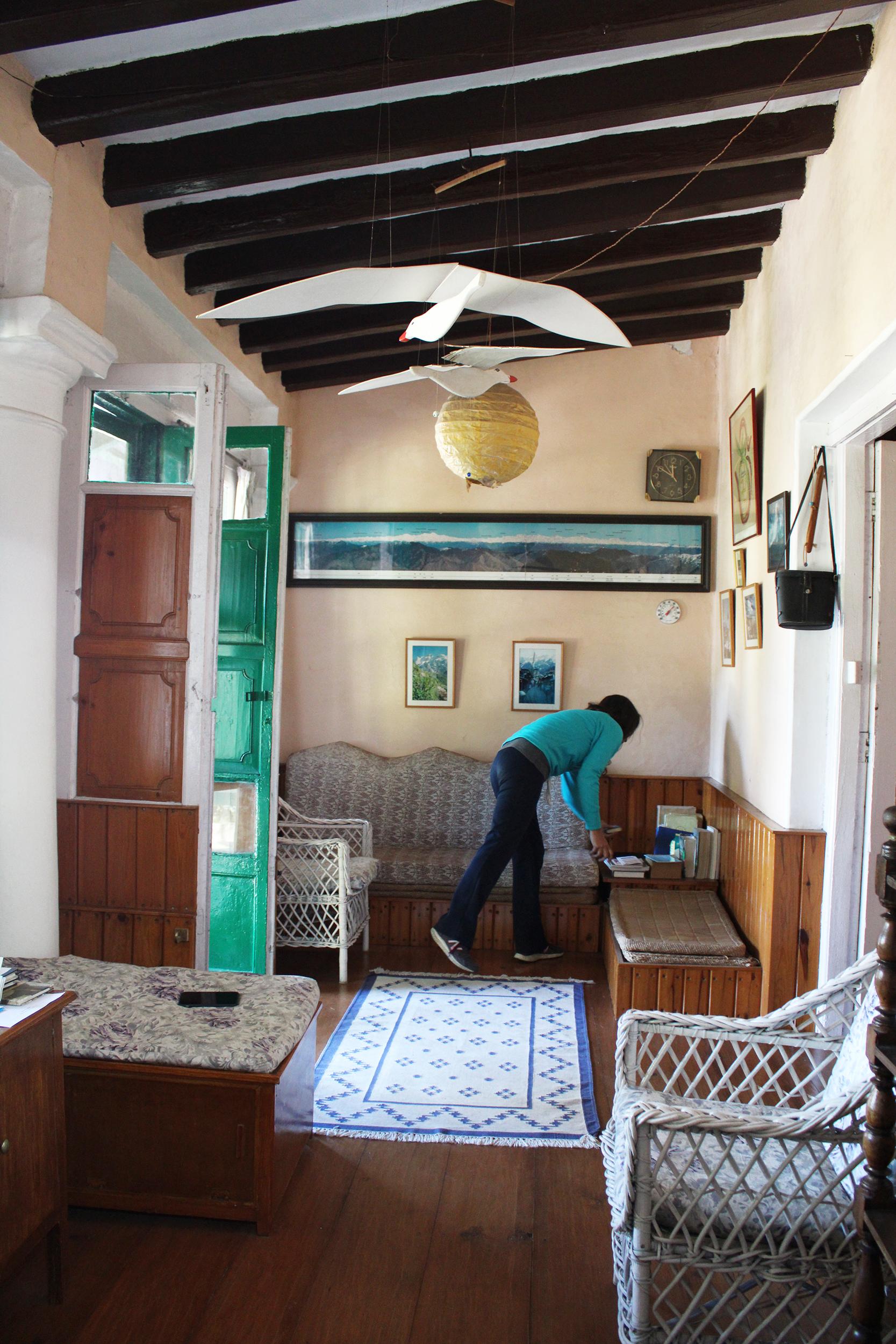 mountain homes, indian interiors, natural design, outdoors, eco friendly design, green design, landour house