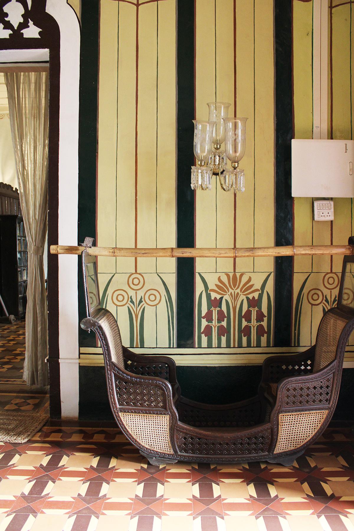 study, goa, figueredo mansion, heritage, decoration, design