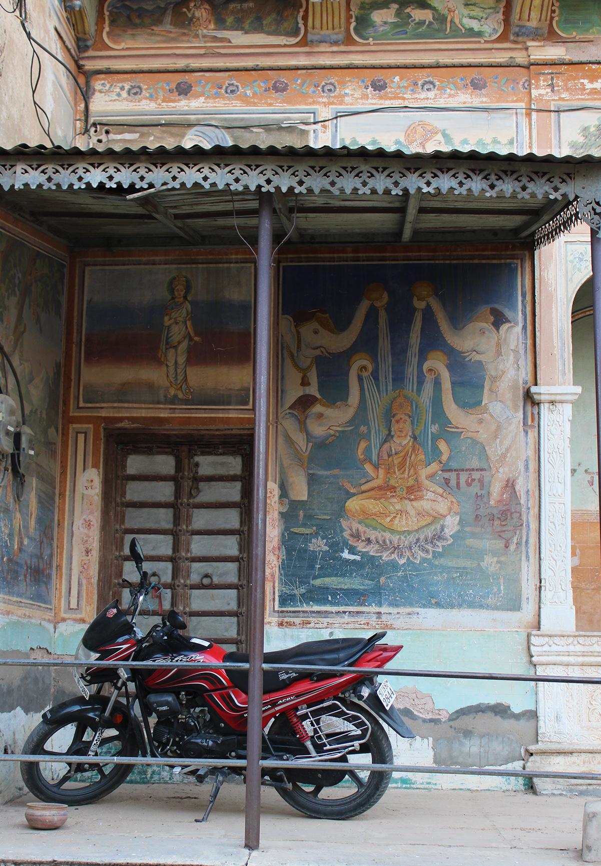 shekawati, interior design, haveli, vernacular, natural, organic