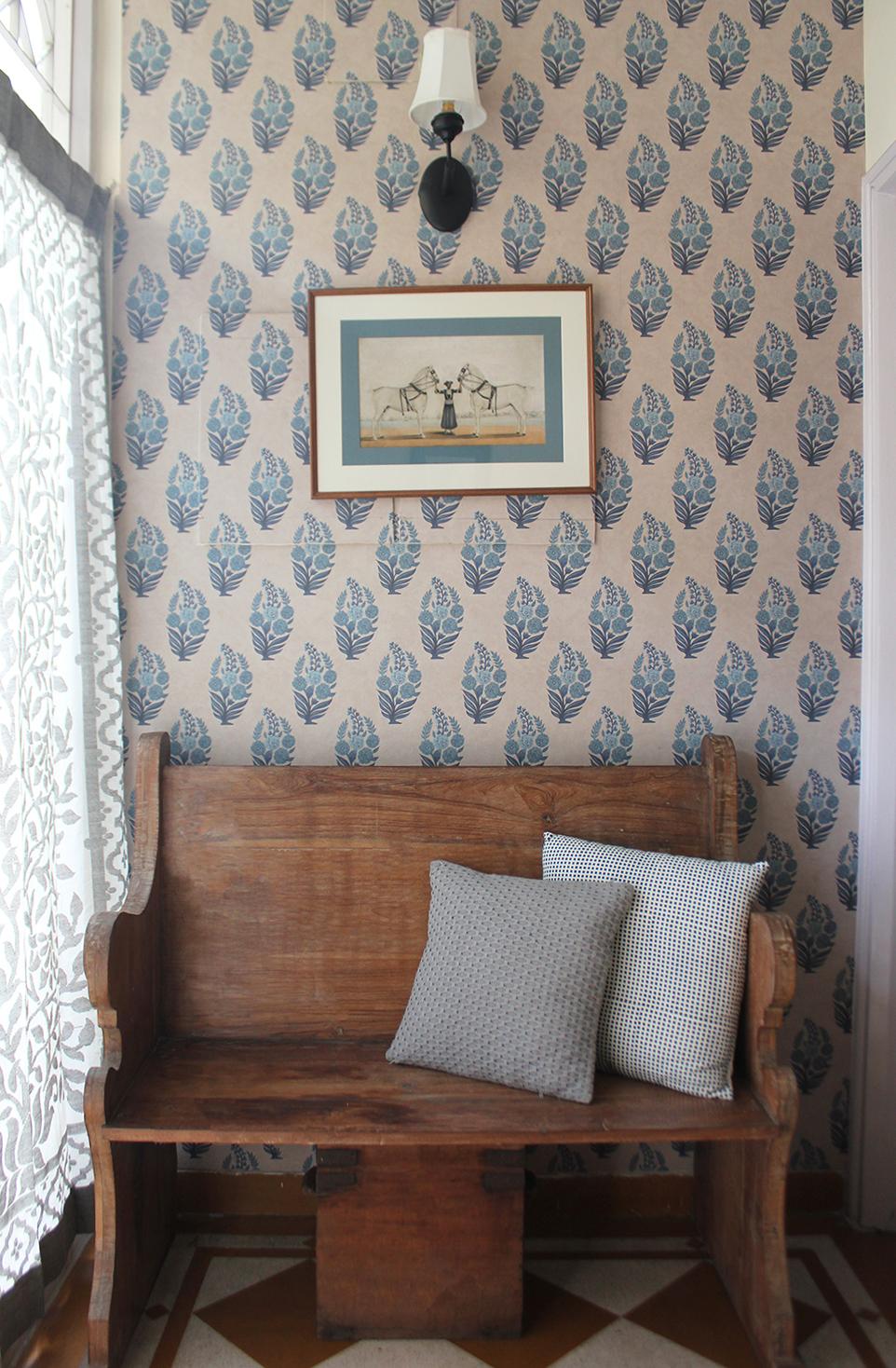 entryway, delhi, interior design, wallpaper, beautiful interiors, indian interiors, natural design, Shivani Dogra